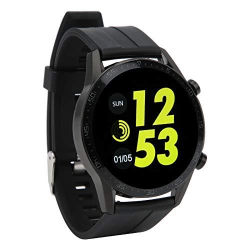PBOHUZ Sport Smartwatch Informe meteorológico Pantalla Colorida de Alta definición táctil Completa Cuerpo de Fibra de Carbono