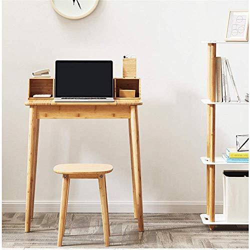 Vassoio della base Tabella vibrazione di scrivania Dressing tavolo in legno for la casa camera da letto (Colore: Beige, Dimensione: 70x48x89.3cm) WKY (Color : Beige, Size : 70x48x89.3cm)