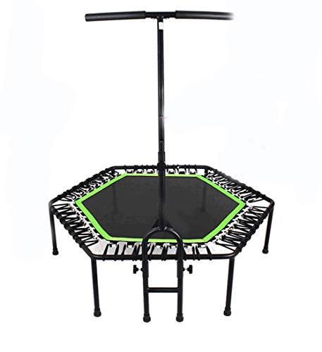 LuoMei Trampoline Gym Household Indoor Dedicated Bounce Trampoline Fitness Bounce Sports Equipment