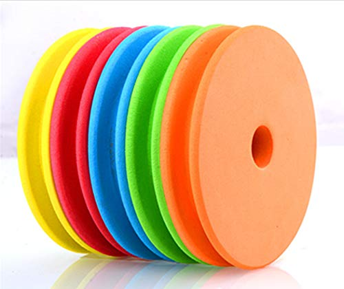 Toasis Fishing Line Storage Fishing Snell Leader Rigs Foam Spool (Multicolors/Large)
