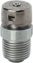 Universal Drain or Breather, Stainless Steel, Male Connection, 1/2