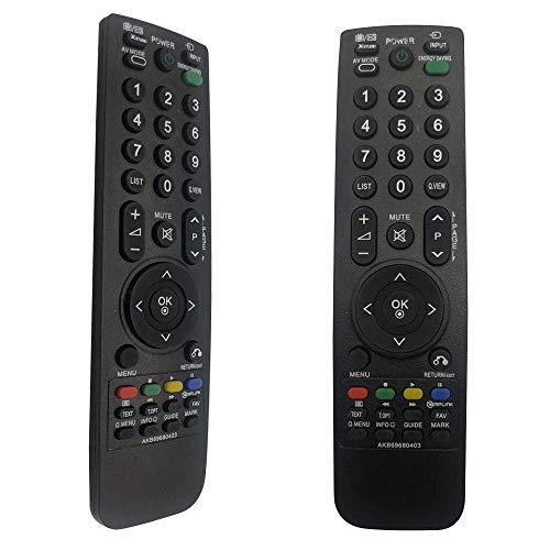 FOXRMT Reemplazo Mando LG AKB69680403 para Mando a Distancia LG Smart TV Ajuste para Mando Televisión LG AKB69680403