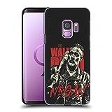 Head Case Designs Licenciado Oficialmente AMC The Walking Dead Negan Retratos de Personajes de la Temporada Carcasa rígida Compatible con Samsung Galaxy S9