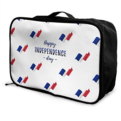 Bolsa de viaje, bolsa de viaje con ruedas, maletas ligeras portátiles, bolsa de lona, bolso, pancarta, póster de Francia