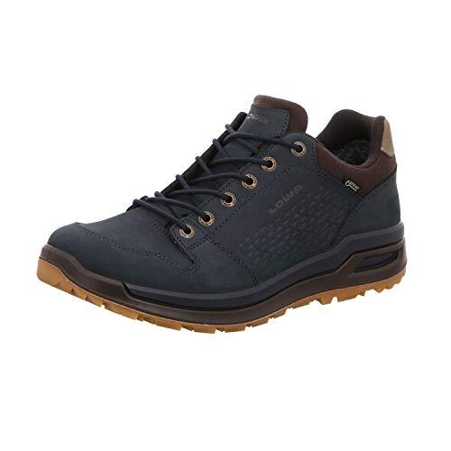 Lowa M Locarno GTX LO Blau, Herren Gore-Tex Hiking- und Approachschuh, Größe EU 46 - Farbe Navy
