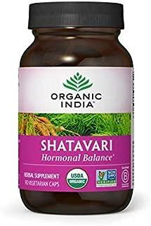 Organic India Shatavari, Ayurvedic Herb to Balance Hormones (90 V-Caps)