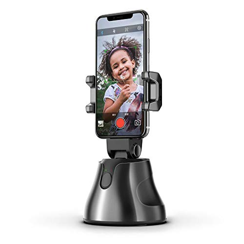 ZUYOKI Smartphone Gimbal 360 ° Face Photo Follow-Up Telefono Per Vlog Registrazione Video Live, Con Modalità Sport Inception Traccia Movimento Oggetto