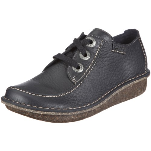 Clarks Damen Funny Dream Derby, Blau (Navy), 40 EU