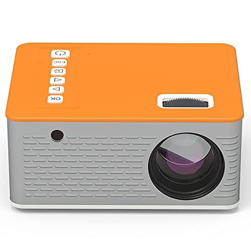 Mini Projetor de Telefone Celular, Projetor de VíDeo PortáTil, Suporta Tela Full HD, Adequado Para Entretenimento em Casa