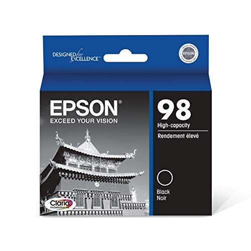 Epson T098120 Claria Hi-Definition Black High Capacity Cartridge Ink Delaware