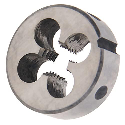Hegebeck Right Hand Metric Round Die M8 x 1.25 Machine Thread Threading Dies Alloy Steel 1Pcs