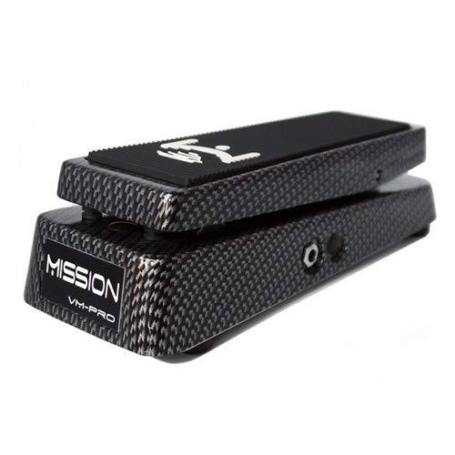 Mission Engineering vm-pro-cn Volume Pedal Professionelle Aktiv für Gitarren und andere Instrumente Hydrographic Carbonfibre