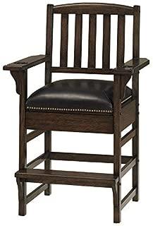 American Heritage King Chair in Riverbank 529913, Black