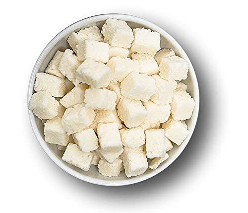 1001 Frucht Kokos Würfel 500 gr kandierte Früchte für Karibik Müsli I Kokosnuss Süßigkeit als Smoothie Bowls Topping I exotische Snacks Knusper Früchte für Obstsalat Desserts und zum Backen