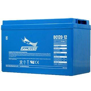 Fullriver 120Ah AGM Deep Cycle Battery DC120-12