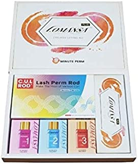 Lomansa Plus Eyelash Perming Lifting Kit (3 pouch, C.U.L rods, Lifting adhesive, keratin boost, lifting magic wand, stick,...