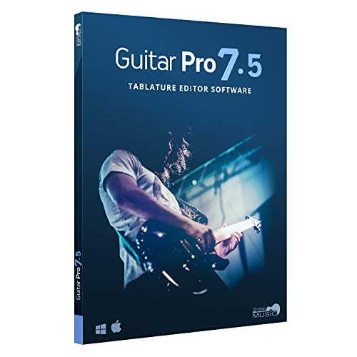 Guitar Pro 7.5 - Tablature and Notation Editor, Score Player, Guitar Amp and FX Software (Blues Masters The Very Best Of Johnny Guitar Watson)