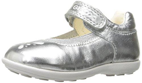 Geox Baby Mädchen B Jodie A Lauflernschuhe, Silber (Silverc1007), 25 EU