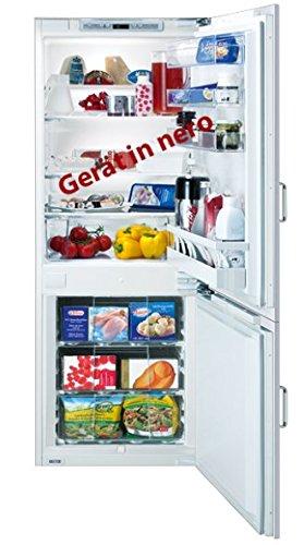 SIBIR Duo Eco Swiss Integrado 252L A++ Negro nevera – Refrigeradores congeladores (252 L, A++, Negro)