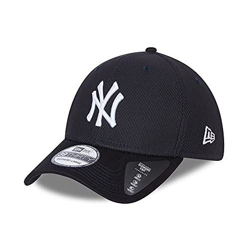 New Era New York Yankees MLB Diamond Era Navy 39Thirty Stretch Cap - S-M (6 3/8-7 1/4)