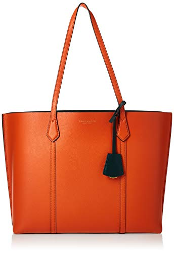 Tory Burch Perry Triple-Compartment Tote Canyon Orange One Size