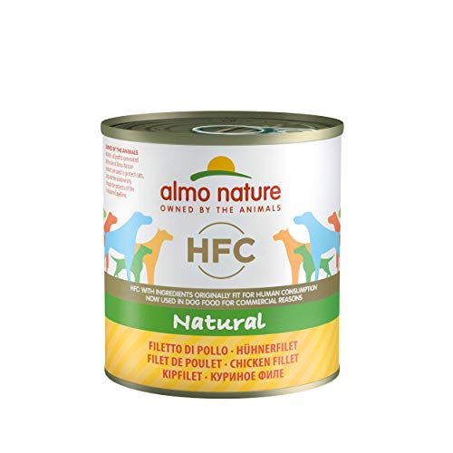 Almo Nature HFC Natural - Filetto Di Pollo, Umido Cane Naturale, 12 x 280g