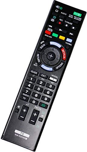 ALLIMITY RM-ED058 Fernbedienung Ersetzen für Sony KDL-32W705B KDL-40HX753 KDL-42W706B KDL-42W807A KDL-42W815B KDL-42W828B KDL-46HX753 KDL-46HX753 KDL-47W807A