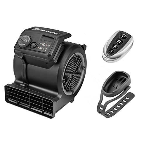 Ventilador de suelo para gimnasio Vacmaster Cardio54 con control remoto Ventilador de refrigeración para ciclismo Ventiladores silenciosos