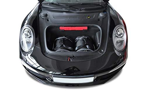 KJUST Reisetaschen 2 STK kompatibel mit Porsche 911 Carrera 4 991 2012-2015