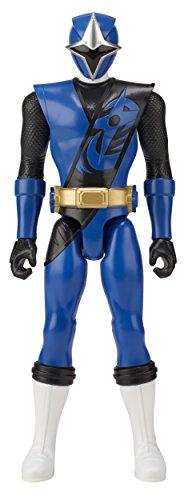 电力别动队超级忍者钢12英寸的行动图,蓝色游侠