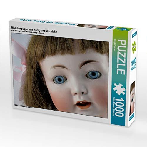 CALVENDO Puzzle Mädchenpuppe von König und Wernicke 1000 Teile Lege-Größe 64 x 48 cm Foto-Puzzle Bild von Birgit Presser