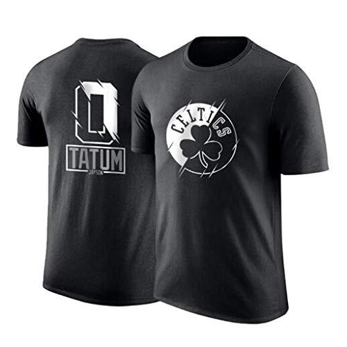 LLSDLS Baloncesto NBA Camiseta Celtics Tatum Jersey de Cuello Redondo Transpirable Deportes...