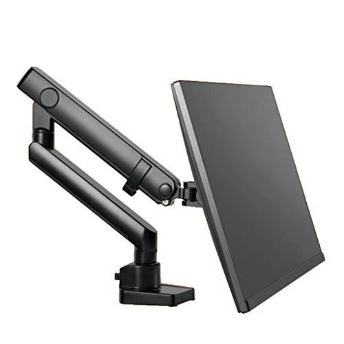 24/27 / da 34 pollici Monitor Holder Mount LCD Monitor LED Braccio staffa rotativo da 360 gradi Monitor stand (Color : Black)