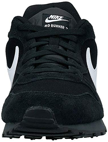 Nike MD Runner 2, Zapatillas Hombre, Negro (Black/White Anthracite), 41 EU