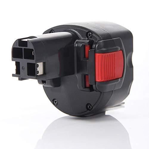 Masione Ersatz akku Batterie für Bosch Werkzeug 9.6V 3Ah 3000mAh Ni-Mh 2 607 335 260,2 607 335 271,2 607 335 272,2 607 335 373, Bosch Model GDR 9.6 V, GSR 9.6 (New Version), PSR 9.6 VE-2 PSR 960