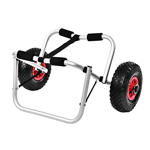 LVLUOKJ Carro Transporte de Kayak Plegable