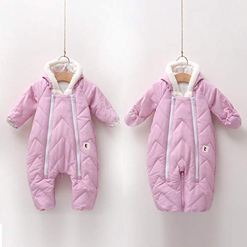 Neutral Swaddle Blanket Baby Sleeping Bag Baby Romper, Infant, One-Piece Suit, Multi-Function, Dual-Use, Sleeping Bag, Warm In Autumn And Winter@Pink_66Cm Child Comfort Quilt
