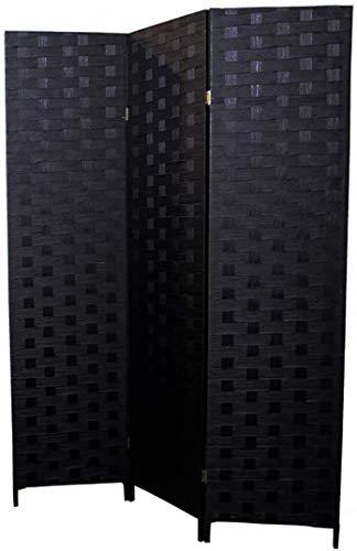 profesional ranking Palas negras de bambú natural, 3 paneles, etc. para tabiques domésticos, etc. elección
