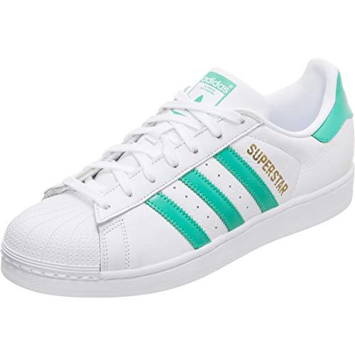 adidas Men's Superstar Fitness Shoes, White (Blanco 000), 8 UK