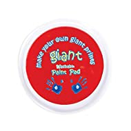 Baker Ross EV937 Red Giant Pad for Kids Finger Painting for Arts and Crafts Projects (Pack of 1)
