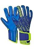 Reusch Pure Contact 3 G3 Duo - Guantes de Portero, Color Azul Oscuro, Amarillo y Azul Oscuro, 12