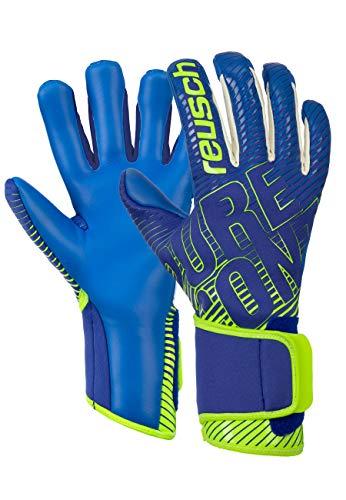 Reusch Pure Contact 3 G3 Duo - Guantes de Portero (Talla 9,5), Color Azul