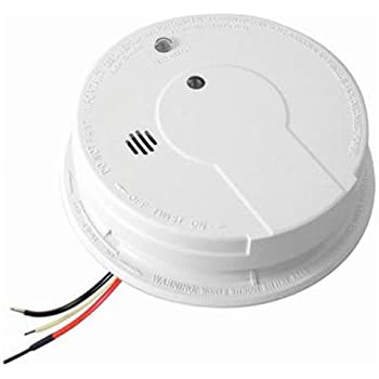 Kidde Hardwire Smoke Alarm With Hush Feature And Battery Backup