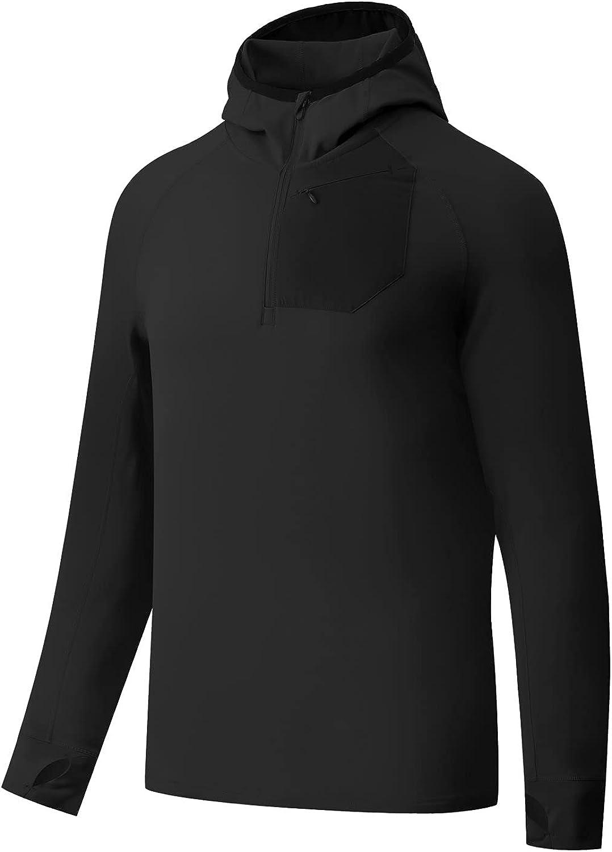 BALEAF Industry No. 1 Men's Running Jacket Thermal Fleecec Lightweight Half Max 74% OFF Zip
