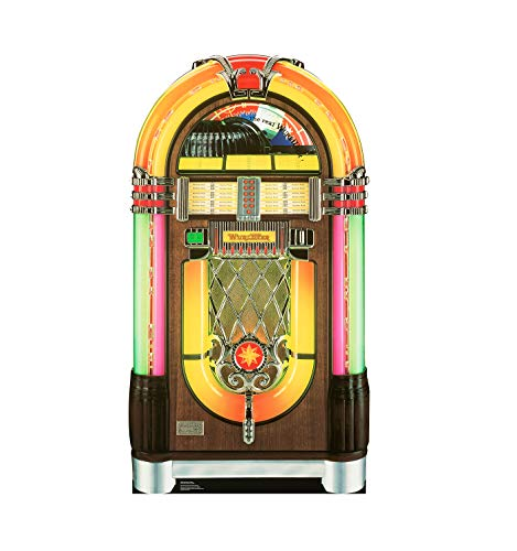 Advanced Graphics 28 Wurlitzer Jukebox Life-Size Cardboard Stand-Up
