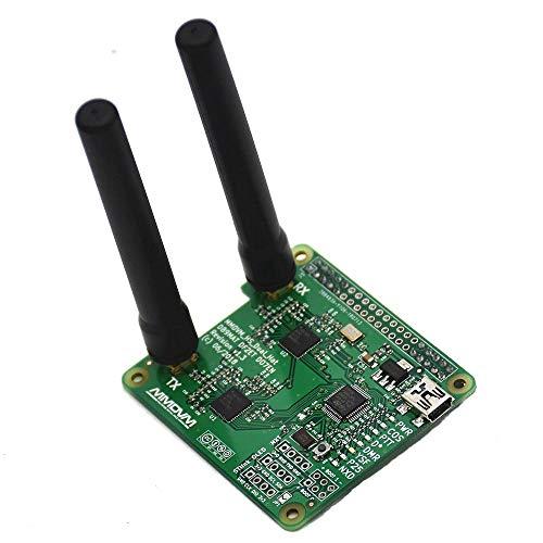 weichuang Elektronisches Zubehör USB-Kommunikation Duplex Hotspot Unterstützung P25 DMR YSF + 2 Antennen für RPi Elektronikzubehör Elektronikzubehör