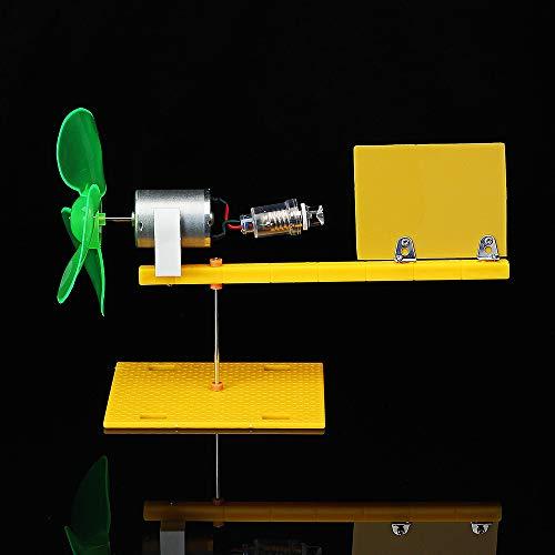 ExcLent Diy Windgenerator Modell Lehre Bildung Windklingen Turbine