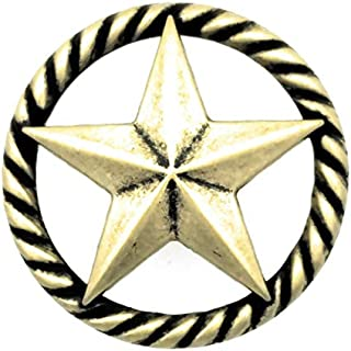 Set of 8 Texas Lone Star Rope Drawer Cabinet Knob Pull Western Decor