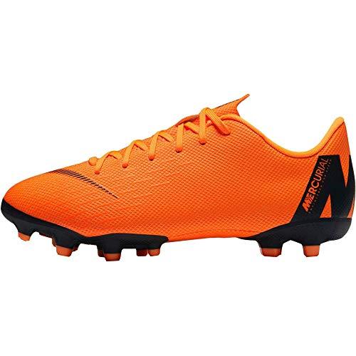 Nike Jr Vapor 12 Academy GS MG Größe 37 Orange (Orange-Schwarz)