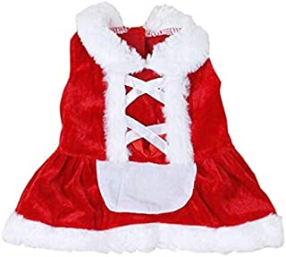 Zmond - High Quality Fashion 2016 Christmas Dog Clothes Santa Doggy Costumes Clothing Pet Apparel New Design [ M ]